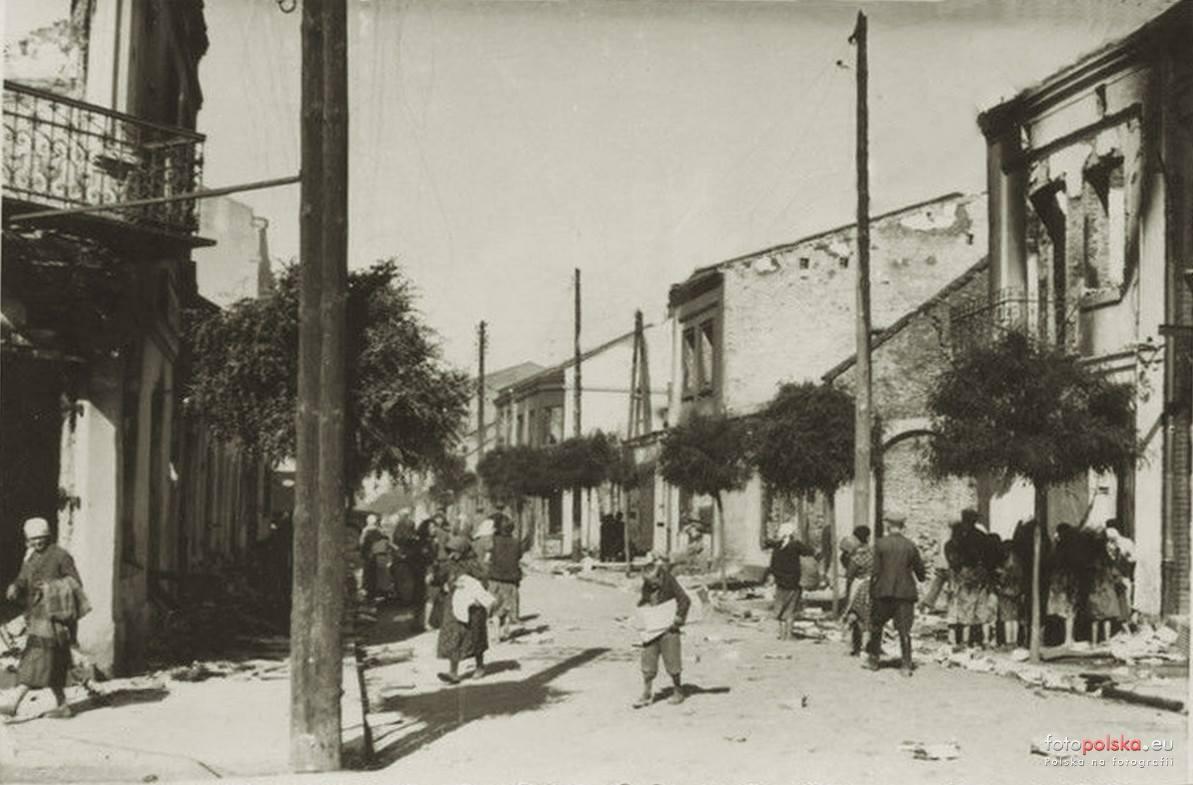 Ulica Warszawska - 1943 rok