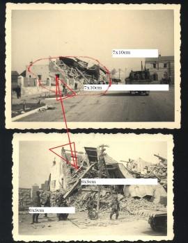 II WŚ - zniszczony budynek - Jerozolimska