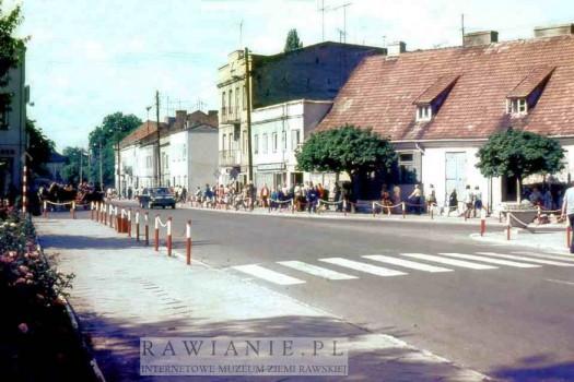 Plac Piłsudskiego - Czarna Wołga porwie nas - lata 70-te
