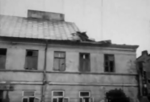 Huragan w Rawie - 15-16 maja 1958