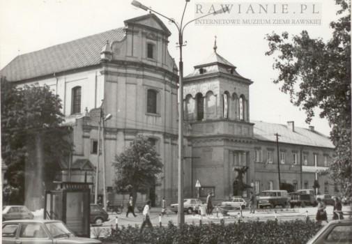 Plac Piłsudskiego - lata 80-te