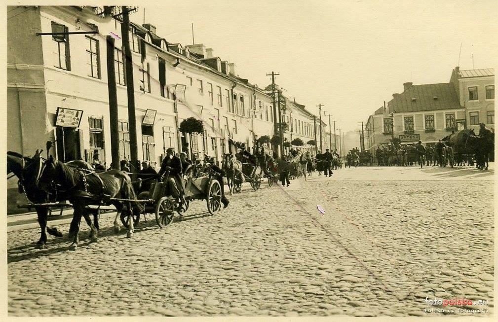 1939 Plac Piłsudskiego - wrzesień 1939 - wejście wojsk niemieckich