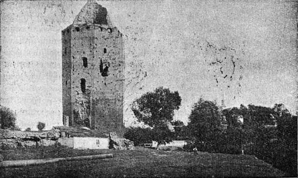 Zamek przed rekonstrukcją - 1932 rok