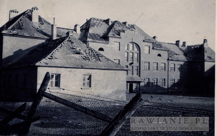 Huragan 1958 rok - Szkoła Podstawowa