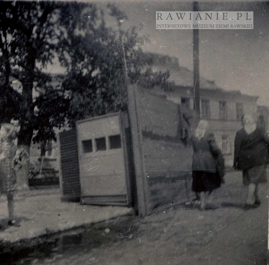 Huragan 1958 rok - kiosk