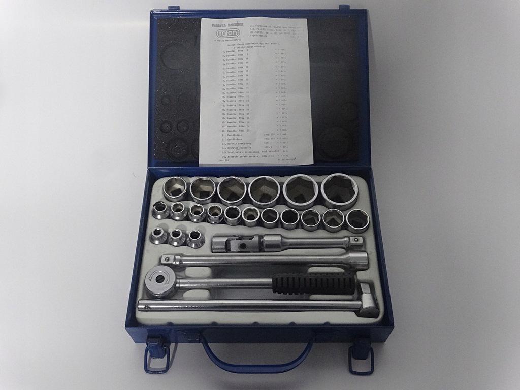 Zestaw kluczy nasadowych RAFAN typ RWA RZB-11