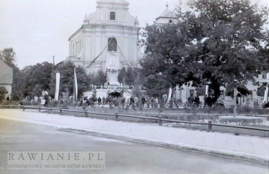 Plac Piłsudskiego - Boże Ciało - lata 50-te