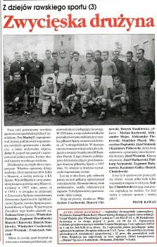 Mazovia - lata 50-te / skan Echo Ziemi Rawskiej