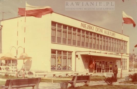 Miejski Dom Kultury - lata 80/90te