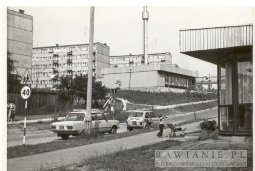 Osiedle Solidarności (XXX lecia) - okolice cmentarza - lata 80/90te