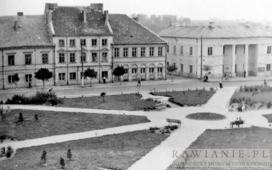 Plac Piłsudkiego - lata 60-te