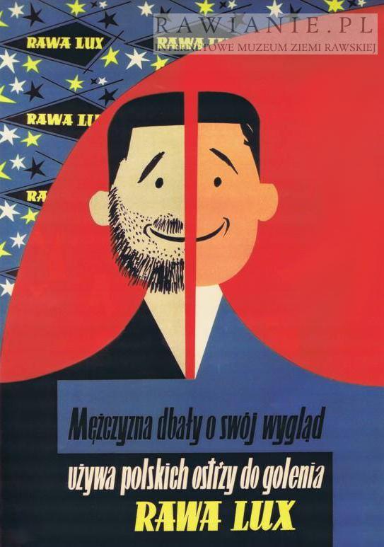 Plakat reklamowy Rawa Lux