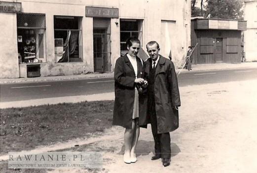1965 - ulica Warszawska, sklep PSS
