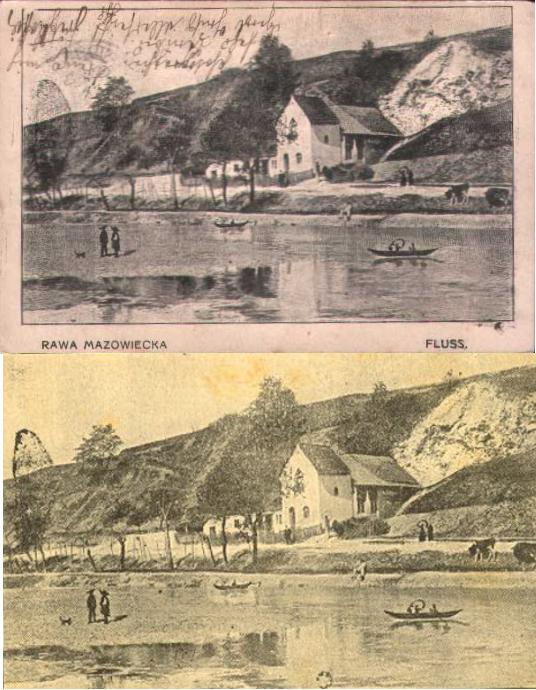 Rawa Mazowiecka - fluss - rzeka