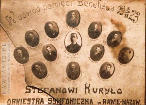 W dowód pamięci Benefisu 2 II 1923 - Stefanowi Kuryło