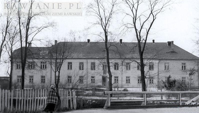 Szpital św. Ducha - okupacja 1941r