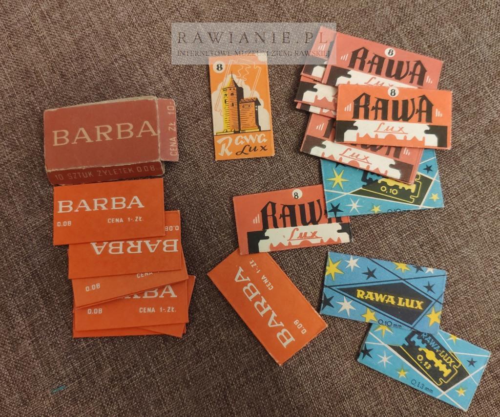 Rawa Lux - żyletki produkowanie w Rawie